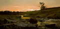 Paintings, FREDERICK JUDD WAUGH (American, 1861-1940). Sunset. Oil on canvas. 24-1/2 x 50 inches (62.2 x 127 cm). Signed lower righ...
