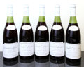 Red Burgundy, Grands Echezeaux 1959 . Maison Leroy . 1(3cm), 1(3.2cm),2(3.5cm), 1(3.7cm), 3lbsl. Bottle (5). ... (Total: 5 Btls. )