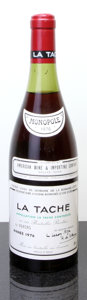 Red Burgundy, La Tache 1976 . Domaine de la Romanee Conti . 3.2cm, lbsl,#010595. Bottle (1). ... (Total: 1 Btl. )