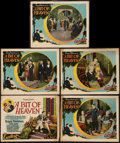 """Movie Posters:Drama, A Bit of Heaven (Excellent, 1928). Title Lobby Card & LobbyCards (4) (11"""" X 14""""). Drama.. ... (Total: 5 Item)"""