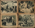 "Movie Posters:Action, The Boss of Camp 4 (Action, 1922). Lobby Cards (4) (11"" X 14"").Action.. ... (Total: 4 Items)"