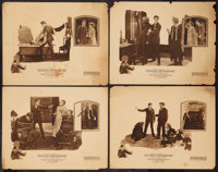"""Bulldog Drummond (Hodkinson Pictures, 1922). Lobby Cards (4) (11"""" X 14""""). Crime. ... (Total: 4 Items)"""