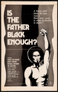 """Movie Posters:Blaxploitation, Is the Father Black Enough? and Others Lot (Howco, 1975). WindowCard (14.5"""" X 23""""), Uncut Pressbooks (2) (4 Pages, 11"""" X 17...(Total: 3 Items)"""