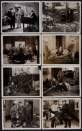 """Movie Posters:Comedy, Laurel and Hardy in Pardon Us (MGM, 1931). Photos (16) (8"""" X 10"""").Comedy.. ..."""