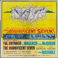 "Movie Posters:Western, The Magnificent Seven (United Artists, 1960). Six Sheet (80.5"" X 81""). Western.. ..."