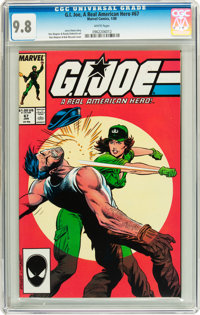 G. I. Joe, A Real American Hero #67 (Marvel, 1988) CGC NM/MT 9.8 White pages
