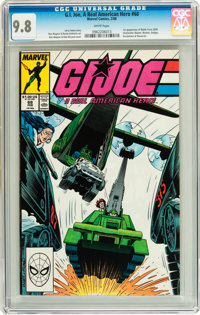 G. I. Joe, A Real American Hero #68 (Marvel, 1988) CGC NM/MT 9.8 White pages