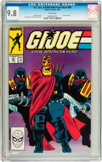 G. I. Joe, A Real American Hero #69 (Marvel, 1988) CGC NM/MT 9.8 White pages