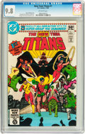 Modern Age (1980-Present):Superhero, New Teen Titans #1 (DC, 1980) CGC NM/MT 9.8 Off-white pages....