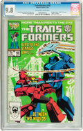Modern Age (1980-Present):Science Fiction, Transformers #18 (Marvel, 1986) CGC NM/MT 9.8 Off-white to whitepages....