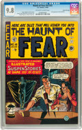 Golden Age (1938-1955):Horror, Haunt of Fear #16 (#2) Gaines File pedigree 2/9 (EC, 1950) CGCNM/MT 9.8 Off-white to white pages....