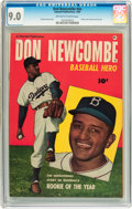 Golden Age (1938-1955):Non-Fiction, Don Newcombe #nn (Fawcett, 1950) CGC VF/NM 9.0 Off-white to whitepages....