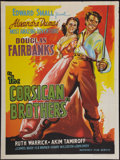 "Movie Posters:Adventure, The Corsican Brothers (Mudnaney Film, R-1950s). Indian Poster (30""X 40""). Adventure.. ..."