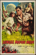"Movie Posters:Science Fiction, Jungle Moon Men (Columbia, 1955). One Sheet (27"" X 41""). ScienceFiction.. ..."