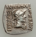 Ancients:Greek, Ancients: INDO-GREEK KINGDOMS. Philoxenus (ca. 100-95 BC). ARsquare Indic drachm (2.38 gm). ...