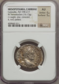 Ancients:Roman Provincial , Ancients: MESOPOTAMIA. Carrhae. Caracalla (AD 198-217). BItetradrachm (16.13 gm). ...