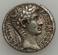 Ancients:Roman Provincial , Ancients: SYRIA. Antioch. Augustus (27 BC-AD 14). AR tetradrachm(14.76 gm). ...