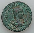 Ancients:Roman Provincial , Ancients: CILICIA. Laerte. Valerian II (Caesar, AD 253-255). Æ 11assaria (30mm, 16.77 gm). ...