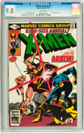 Bronze Age (1970-1979):Superhero, X-Men Annual #3 (Marvel, 1979) CGC NM/MT 9.8 White pages....