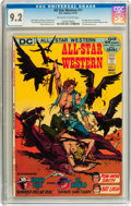 Bronze Age (1970-1979):Western, All-Star Western #11 (DC, 1972) CGC NM- 9.2 Off-white to white pages....