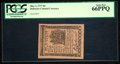 Colonial Notes:Delaware, Delaware May 1, 1777 9d PCGS Gem New 66PPQ.. ...