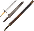 Edged Weapons:Daggers, Lot of 3 German Edged Weapons.... (Total: 3 Items)