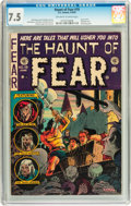 Golden Age (1938-1955):Horror, Haunt of Fear #19 (EC, 1953) CGC VF- 7.5 Off-white to whitepages....