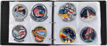 Transportation:Space Exploration, Space Shuttle Embroidered Mission Insignia Patch Collection. ...