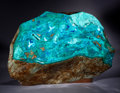 Lapidary Art:Carvings, DRUZY CHRYSOCOLLA SCULPTURE. ...