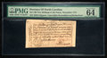 Colonial Notes:North Carolina, North Carolina December, 1771 2s6d House PMG Choice Uncirculated 64EPQ.. ...