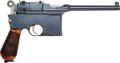Handguns:Semiautomatic Pistol, Mauser Model 96 Flat Side Semi-Automatic Pistol. . ...