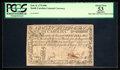 Colonial Notes:South Carolina, South Carolina February 8, 1779 $90 PCGS Apparent About New 53.....