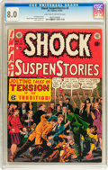 Golden Age (1938-1955):Horror, Shock SuspenStories #2 (EC, 1952) CGC VF 8.0 Light tan to off-whitepages....