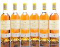 White Bordeaux, Chateau d'Yquem 1970 . Sauternes. 8bn, 1ts, 2vhs, 11lbsl,1nl, 1ssos, honey color. Bottle (12). ... (Total: 12 Btls. )