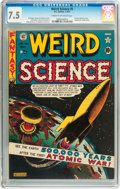 Golden Age (1938-1955):Science Fiction, Weird Science #5 (EC, 1951) CGC VF- 7.5 Cream to off-whitepages....