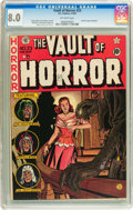 Golden Age (1938-1955):Horror, Vault of Horror #23 (EC, 1952) CGC VF 8.0 Off-white pages....