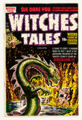 Golden Age (1938-1955):Horror, Witches Tales #17 (Harvey, 1953) Condition: Qualified VF....