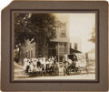 Photography, Delivery Wagon and Workers of Ontario (CA) Laundry Co., Circa 1903. ...