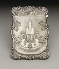 Silver Smalls:Other, An American Silver Calling Card Case . H.L. Webster & Co.,Providence, Rhode Island. Circa 1840. Silver. Marks: H.L.WE...