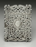 Silver Smalls:Other , A Victorian Silver Calling Card Case. George Unite, Birmingham,England. 1857-58. Silver. Marks: (lion passant), (anchor)...