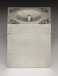 Silver Smalls:Other , A French Silver Box . Unknown maker, Paris, France. 1798-1809.Silver. Marks: (bust flanked by 85), (Paris silver guarant...