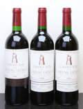 Red Bordeaux, Chateau Latour. Pauillac. 1989 Bottle (1). 1994 1lbsl Bottle (2). ... (Total: 3 Btls. )
