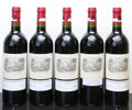 Red Bordeaux, Chateau Lafite Rothschild 1998 . Pauillac. 1bsl. Bottle (5). ... (Total: 5 Btls. )