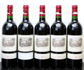 Chateau Lafite Rothschild 2000 Pauillac different importers Bottle (5)
