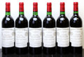 Red Bordeaux, Chateau Cheval Blanc 1983 . St. Emilion. 5lbsl. Bottle (6). ... (Total: 6 Btls. )