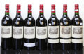 Red Bordeaux, Chateau Lafite Rothschild 1999 . Pauillac. 1lbsl, 1wasl,different importers. Bottle (7). ... (Total: 7 Btls. )
