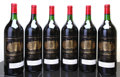 Red Bordeaux, Chateau Palmer 1989 . Margaux. 6bn, 1ssos, owc. Magnum (6).... (Total: 6 Mags. )
