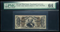 Fractional Currency:Third Issue, Fr. 1325 50¢ Third Issue Spinner PMG Choice Uncirculated 64.. ...