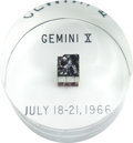 Transportation:Space Exploration, Gemini 10 Flown Heat Shield Plug in Lucite Display. ... (Total: 7 )