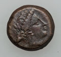Ancients:Ancient Lots  , Ancients: SICILY-THESSALY. Lot of three (3) Greek AE. ... (Total: 3 coins)
